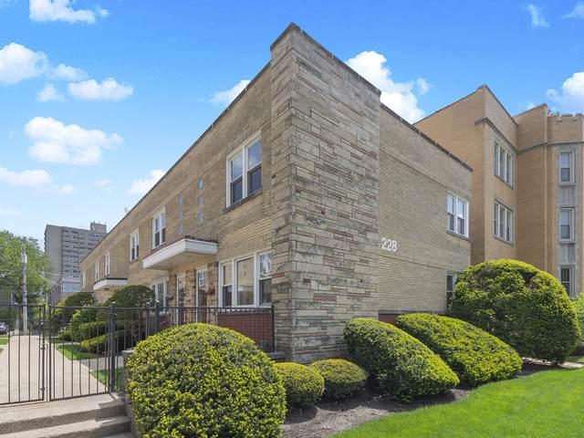 228 S Maple Avenue A, Oak Park, IL 60302 (MLS #10490406) :: Berkshire Hathaway HomeServices Snyder Real Estate