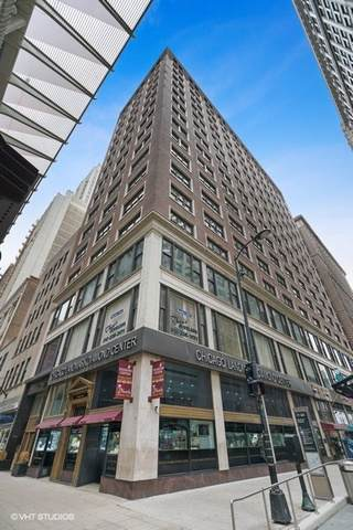 5 N Wabash Avenue N #705, Chicago, IL 60602 (MLS #10490545) :: Berkshire Hathaway HomeServices Snyder Real Estate