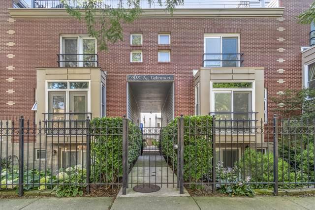 3618 N Lakewood Avenue F, Chicago, IL 60613 (MLS #10490680) :: Baz Realty Network | Keller Williams Elite