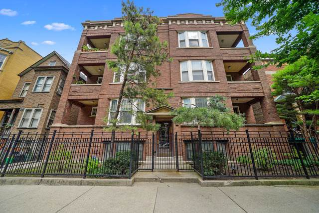 2433 N Sawyer Avenue #2, Chicago, IL 60647 (MLS #10490746) :: The Perotti Group | Compass Real Estate