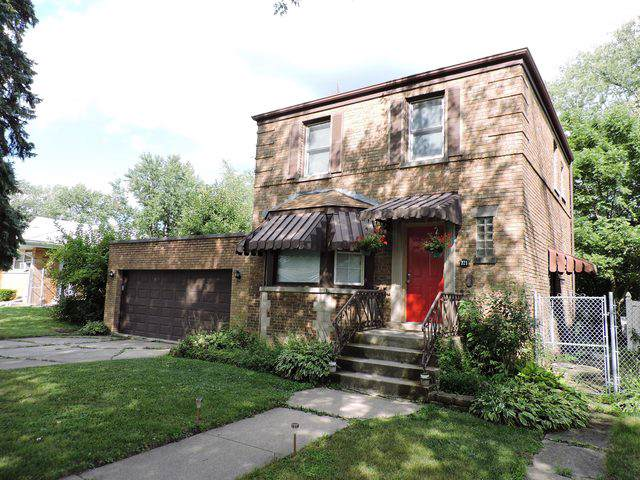 721 Peoria Street, Chicago Heights, IL 60411 (MLS #10490998) :: Berkshire Hathaway HomeServices Snyder Real Estate