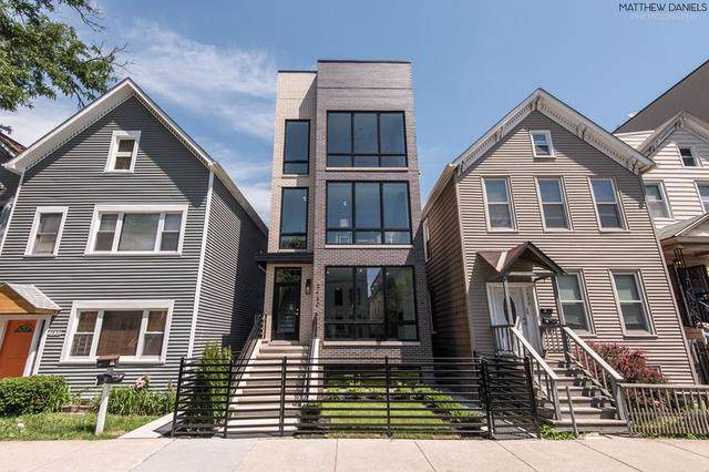 2430 W Moffat Street #2, Chicago, IL 60647 (MLS #10491358) :: The Perotti Group | Compass Real Estate
