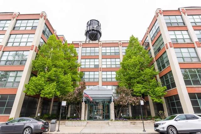 1800 W Roscoe Street #502, Chicago, IL 60657 (MLS #10491763) :: The Perotti Group | Compass Real Estate