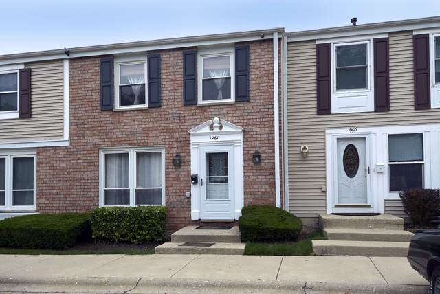 1961 Haddam Place #1961, Hoffman Estates, IL 60169 (MLS #10491797) :: The Perotti Group | Compass Real Estate