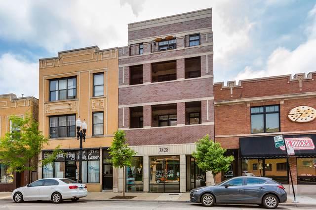 3828 N Lincoln Avenue #4, Chicago, IL 60613 (MLS #10491845) :: The Perotti Group | Compass Real Estate