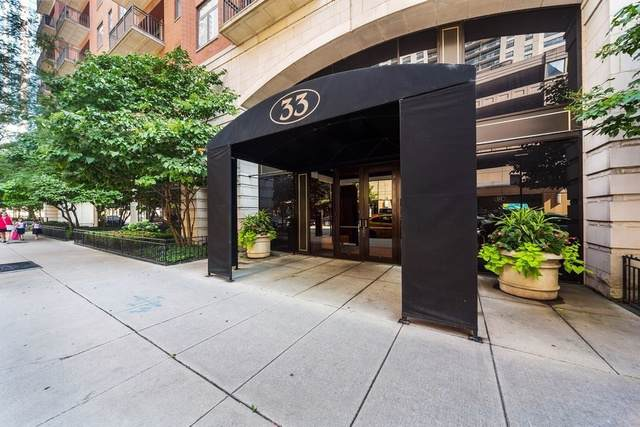 33 W Huron Street #608, Chicago, IL 60654 (MLS #10492410) :: Ryan Dallas Real Estate