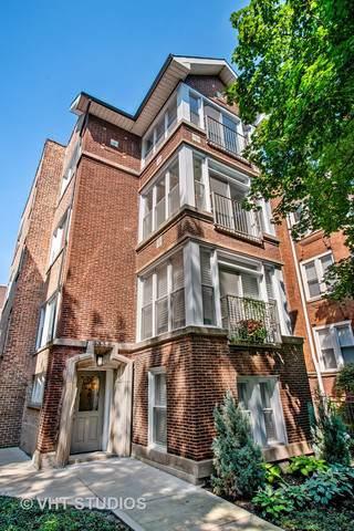 1330 W Winnemac Avenue #3, Chicago, IL 60640 (MLS #10492893) :: Angela Walker Homes Real Estate Group