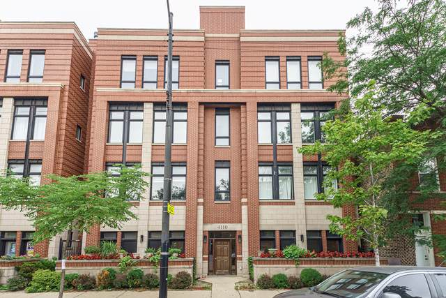 4110 N Western Avenue 2S, Chicago, IL 60618 (MLS #10493339) :: Berkshire Hathaway HomeServices Snyder Real Estate