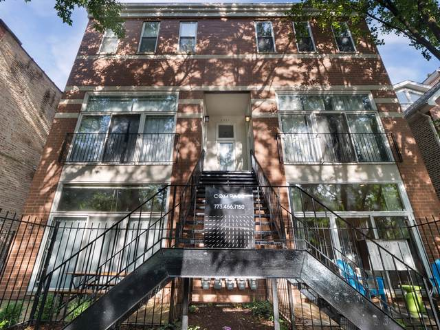 1711 N Hoyne Avenue 1S, Chicago, IL 60647 (MLS #10493516) :: Berkshire Hathaway HomeServices Snyder Real Estate