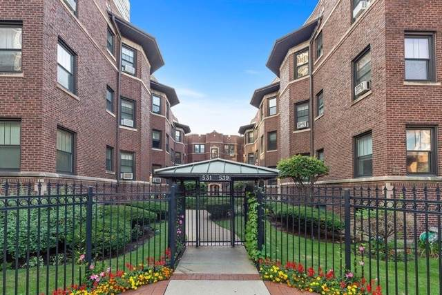 531 W Addison Street 1S, Chicago, IL 60613 (MLS #10493583) :: Property Consultants Realty