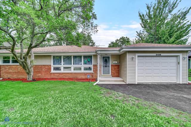 2416 Central Road, Glenview, IL 60025 (MLS #10494359) :: Property Consultants Realty