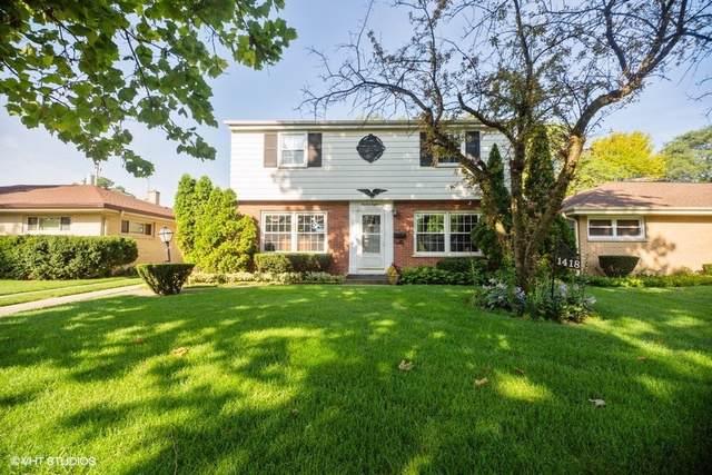 1418 Hoffman Avenue, Park Ridge, IL 60068 (MLS #10494517) :: The Wexler Group at Keller Williams Preferred Realty