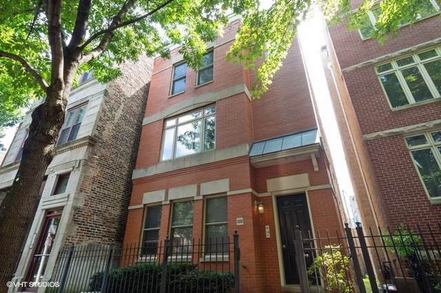 1329 W Fillmore Street C, Chicago, IL 60607 (MLS #10494998) :: Berkshire Hathaway HomeServices Snyder Real Estate