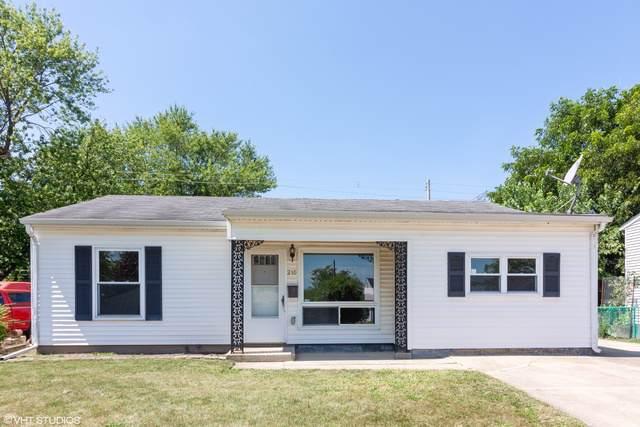210 Hickory Avenue, Romeoville, IL 60446 (MLS #10495573) :: Angela Walker Homes Real Estate Group