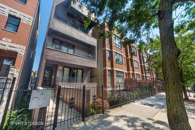 1515 N Bosworth Avenue #2, Chicago, IL 60642 (MLS #10496182) :: John Lyons Real Estate