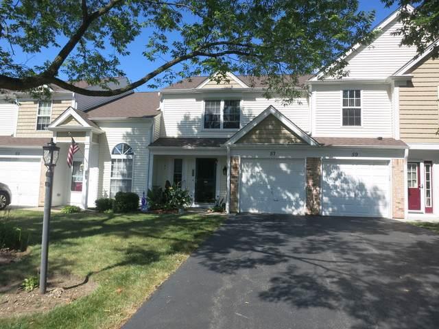 57 Marion Lane #57, Streamwood, IL 60107 (MLS #10496786) :: Ani Real Estate