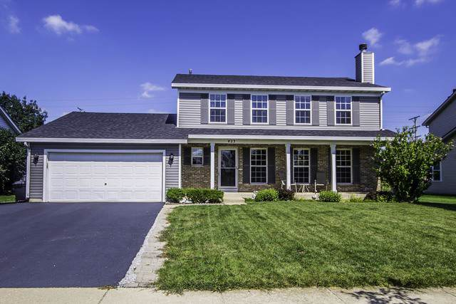 423 Barnaby Drive, Oswego, IL 60543 (MLS #10501437) :: The Mattz Mega Group