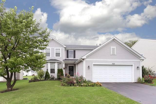 707 Thompson Avenue, North Aurora, IL 60542 (MLS #10503418) :: Property Consultants Realty
