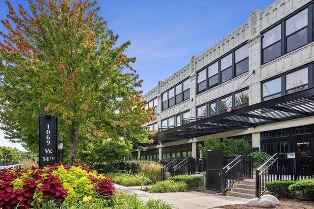 1069 W 14th Place #107, Chicago, IL 60608 (MLS #10504459) :: Property Consultants Realty