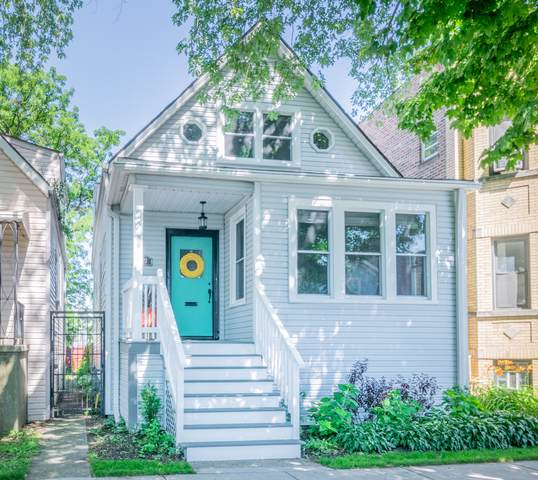 4023 N Sawyer Avenue, Chicago, IL 60618 (MLS #10507500) :: Property Consultants Realty