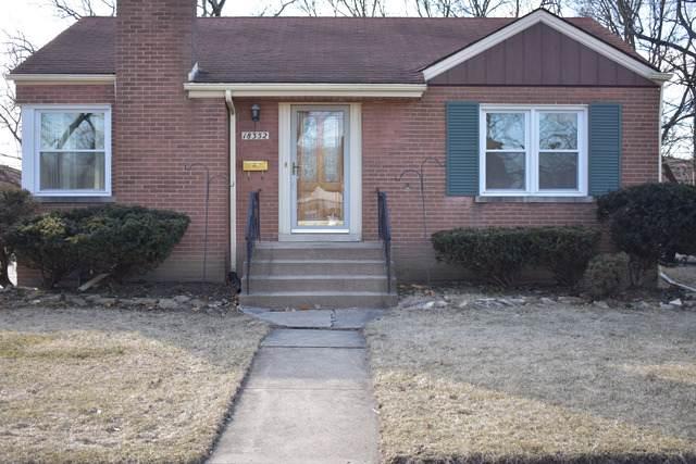 18352 Marshfield Avenue, Homewood, IL 60430 (MLS #10509235) :: Baz Realty Network | Keller Williams Elite