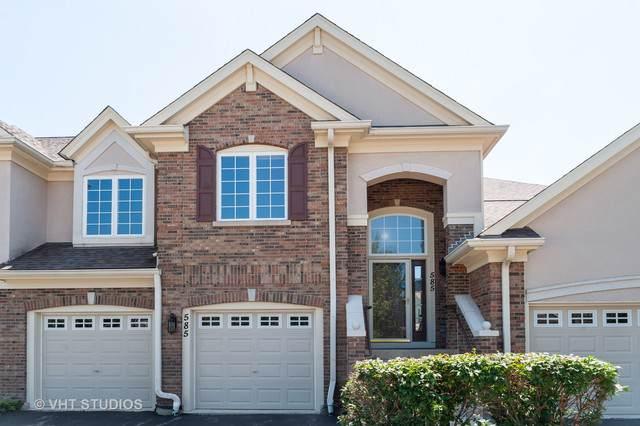 585 E Saddlebrook Lane #585, Vernon Hills, IL 60061 (MLS #10509333) :: Angela Walker Homes Real Estate Group