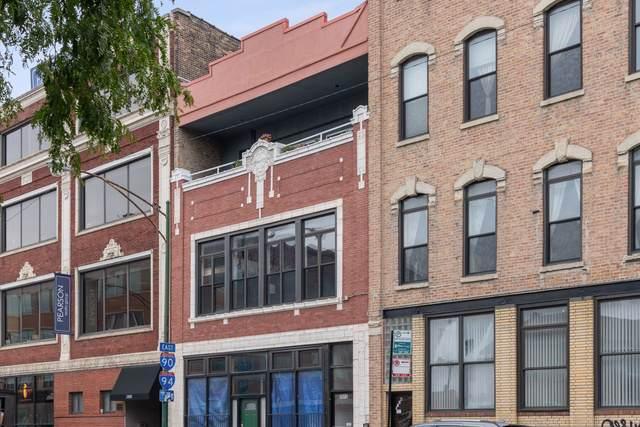1012 N Milwaukee Avenue #2, Chicago, IL 60642 (MLS #10516222) :: Baz Realty Network | Keller Williams Elite