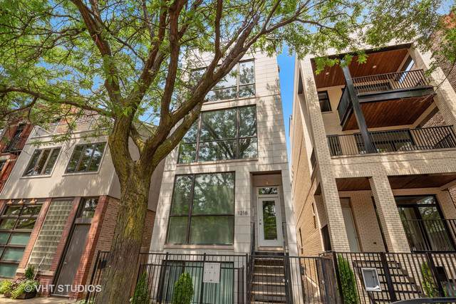 1216 W Hubbard Street #3, Chicago, IL 60642 (MLS #10516532) :: Property Consultants Realty