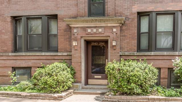 2943 N Sheffield Avenue #2, Chicago, IL 60657 (MLS #10517324) :: Property Consultants Realty