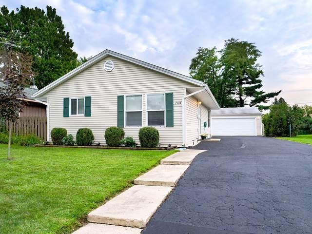 743 Navajo Drive, Carpentersville, IL 60110 (MLS #10518376) :: Ani Real Estate