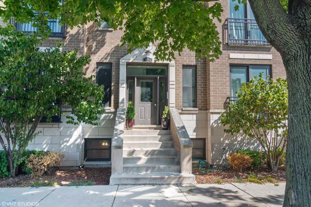 3044 W Roscoe Street 1W, Chicago, IL 60618 (MLS #10518685) :: The Perotti Group | Compass Real Estate