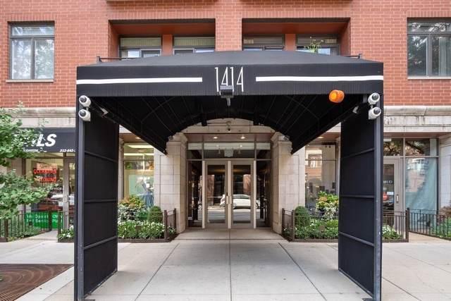 1414 N Wells Street #311, Chicago, IL 60610 (MLS #10518719) :: Littlefield Group