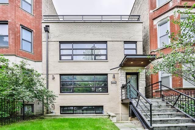 1461 W Cuyler Avenue, Chicago, IL 60613 (MLS #10520604) :: John Lyons Real Estate