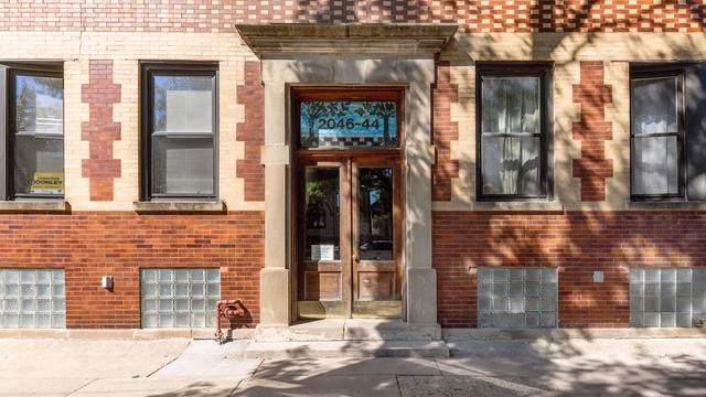 2044 W Cuyler Avenue 3E, Chicago, IL 60618 (MLS #10520675) :: The Perotti Group | Compass Real Estate