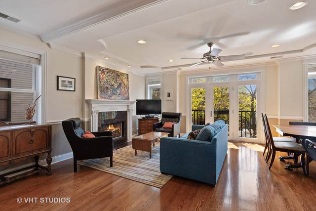 2208 W Addison Street #2, Chicago, IL 60618 (MLS #10520680) :: The Perotti Group | Compass Real Estate