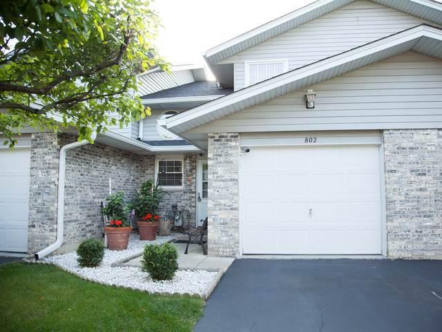 802 N Tamarac Boulevard #802, Addison, IL 60101 (MLS #10521303) :: John Lyons Real Estate