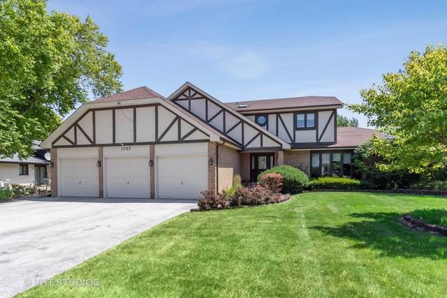 1707 Heather Hill Cres, Flossmoor, IL 60422 (MLS #10521312) :: John Lyons Real Estate