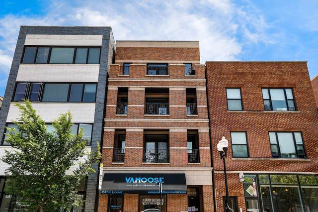 4347 N Lincoln Avenue #4, Chicago, IL 60618 (MLS #10521477) :: John Lyons Real Estate