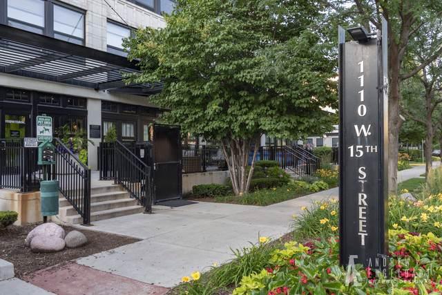 1110 W 15th Street #219, Chicago, IL 60608 (MLS #10523985) :: Baz Realty Network | Keller Williams Elite