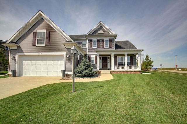1417 Stonecrest Drive, Mahomet, IL 61853 (MLS #10530964) :: Property Consultants Realty