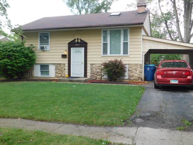 2843 223rd Place, Sauk Village, IL 60411 (MLS #10537316) :: Baz Realty Network | Keller Williams Elite
