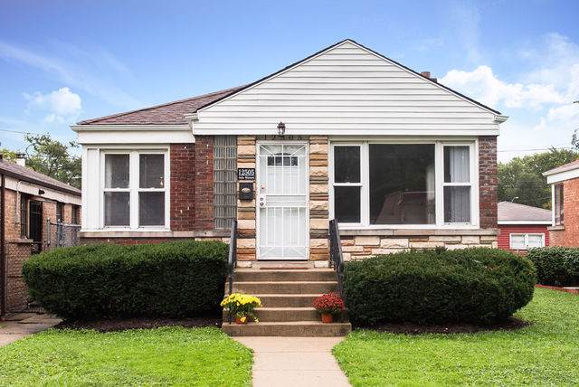 12505 S Ada Street, Calumet Park, IL 60827 (MLS #10537868) :: Property Consultants Realty