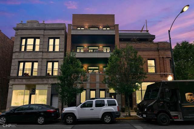 922 N Damen Avenue #3, Chicago, IL 60622 (MLS #10539299) :: LIV Real Estate Partners