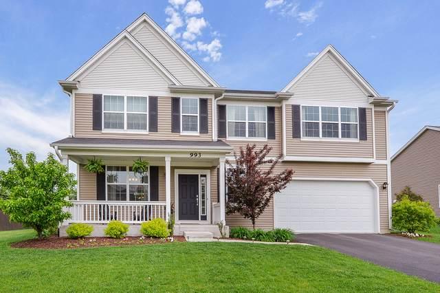 993 Mirador Drive, North Aurora, IL 60542 (MLS #10541249) :: Property Consultants Realty