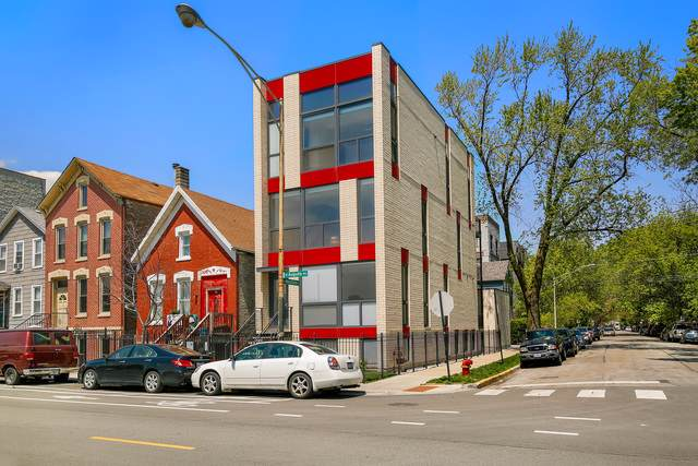 1634 W Augusta Boulevard #2, Chicago, IL 60622 (MLS #10542711) :: The Perotti Group | Compass Real Estate