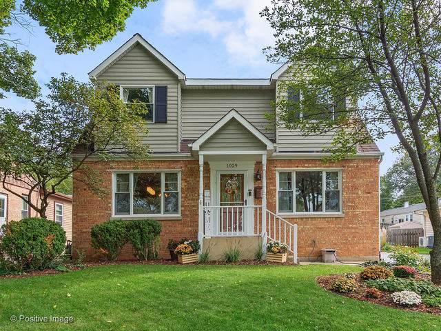 1029 Webster Avenue, Wheaton, IL 60187 (MLS #10543596) :: The Perotti Group   Compass Real Estate