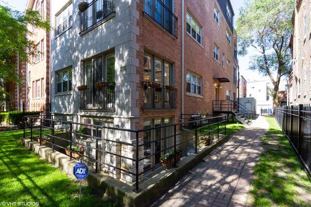 1540 N Claremont Avenue 1E, Chicago, IL 60622 (MLS #10543814) :: The Perotti Group | Compass Real Estate