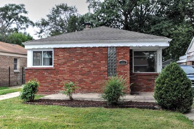 12616 S Ada Street, Calumet Park, IL 60827 (MLS #10543923) :: Property Consultants Realty