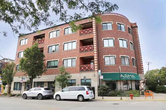 2007 W Churchill Street #206, Chicago, IL 60647 (MLS #10544645) :: The Perotti Group | Compass Real Estate