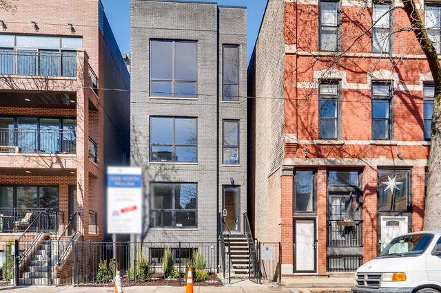 1038 N Paulina Street #2, Chicago, IL 60622 (MLS #10544652) :: The Perotti Group | Compass Real Estate